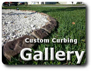 decorative concrete curbing Florida